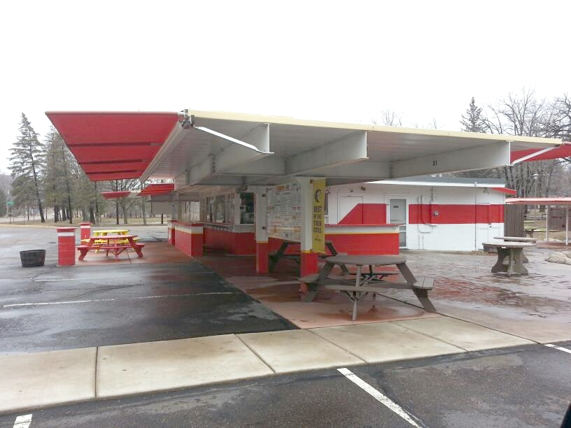 Custom Commercial Project - Drive in Awnings