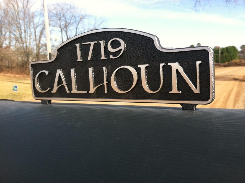 Residential House Signs - Madman Designs